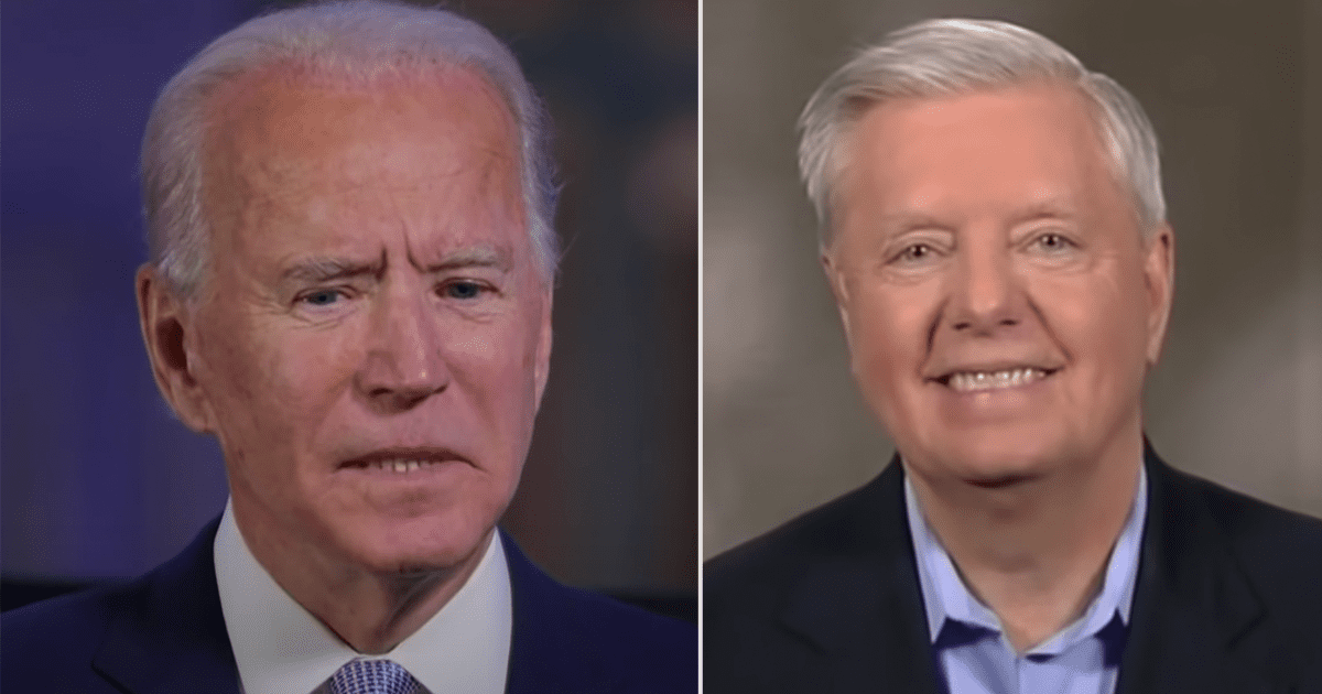 """WATCH: Graham reacts to Biden finally referring to the border """"CRISIS"""""""