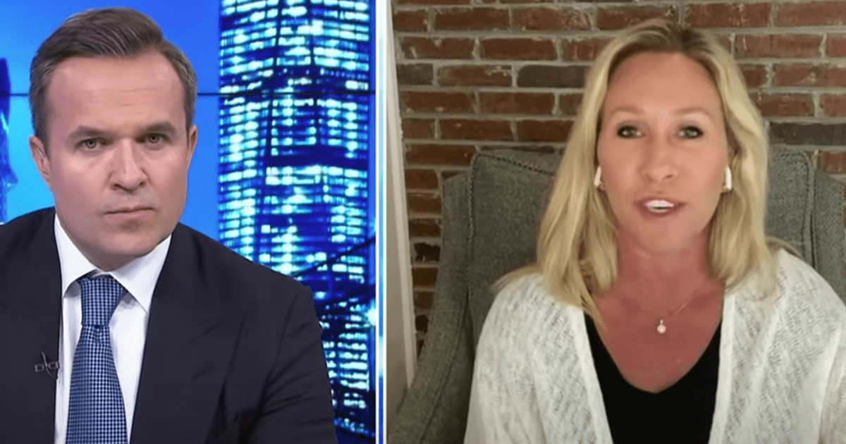 WATCH: Marjorie Taylor Greene argues that Democrats are the real racists
