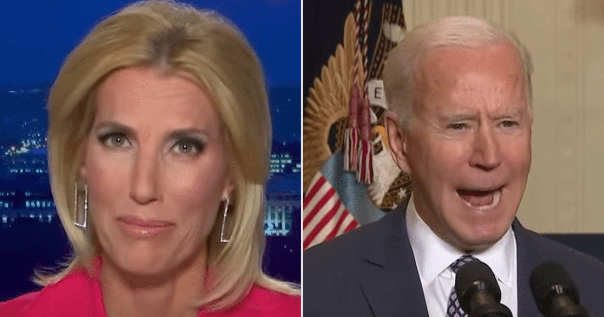 WATCH: Laura Ingraham accuses Biden's White House of making the U.S. look weak on the world stage