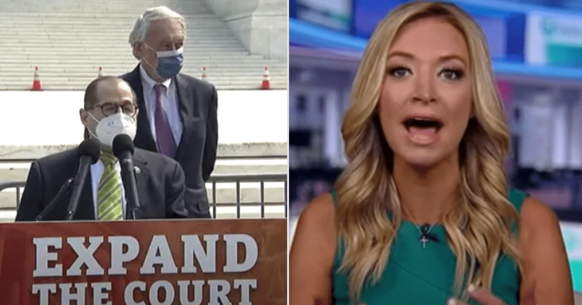 """WATCH: Kayleigh warns Dem proposal for Supreme court expansion will lead to """"one-party rule"""""""