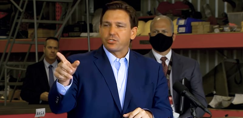 NEW: In Saturday speech, Trump OPENS door for 2024 and DeSantis is RIGHT at the entrance.