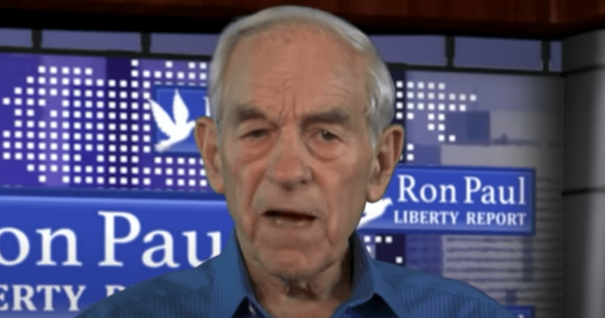 """Ron Paul """"I think the vaccine passports might be the one that, or hopefully, that the people finally wake up"""""""