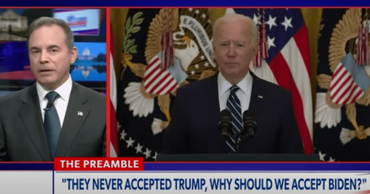 """WATCH: Chris Salcedo """"They Never Accepted Trump, why should we accept Biden?"""""""