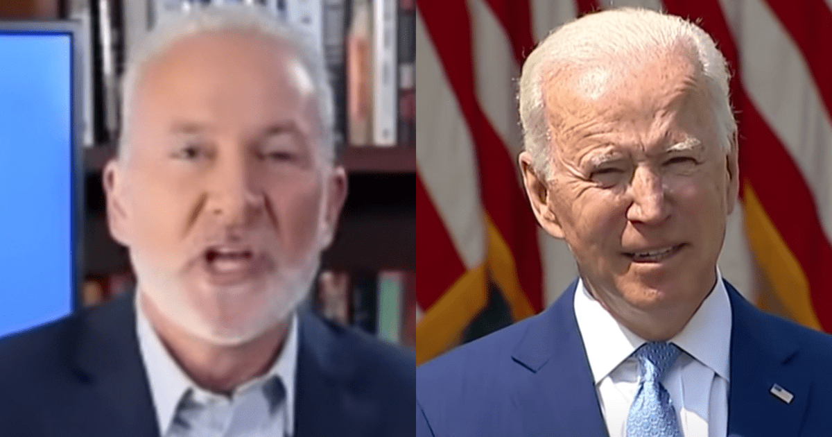"Peter Schiff warns massive Biden spending may lead to ""economic bust"" says ""America has gone from the leader of the free world to the leader in making the world less free!"""