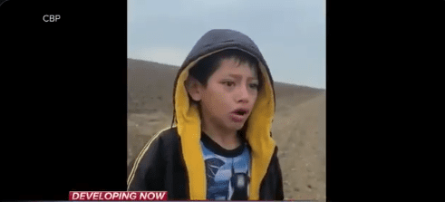 Watch: Video Of Young Boy Increases Pressure On Biden To Stop The Border Chaos