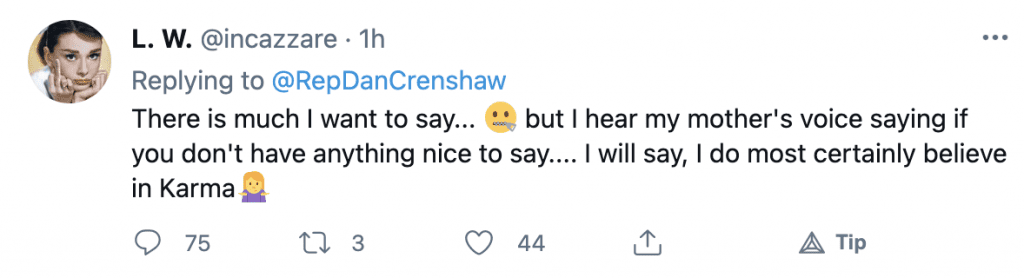 """Critics respond with nasty messages after Dan Crenshaw announces he'll be """"effectively blind for about a month"""" after surgery"""