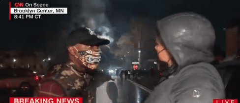 Watch: CNN Is In Over Their Heads When Confronted By 'Peaceful Protestor,' 'Y'all Need To Get Up Out Of Here With All That…