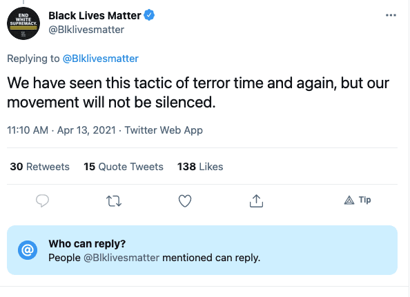 """BLM issues statement over criticism of Patrisse Cullors real estate purchases, says the attacks continue """"a tradition of terror by white supremacists against Black activists"""""""