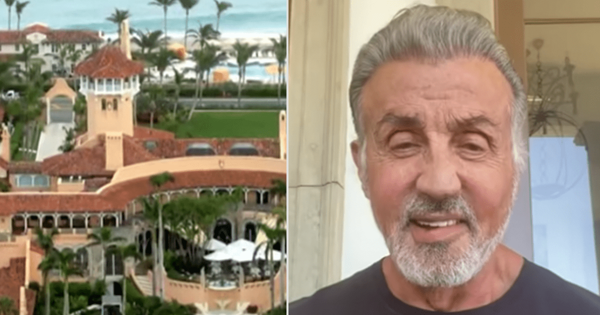 REPORT: Sylvester Stallone joins Trump's Mar-a-Lago Club