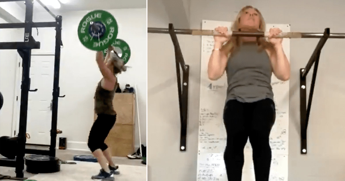 Rep. Taylor Greene shares impressive video footage of her physical conditioning