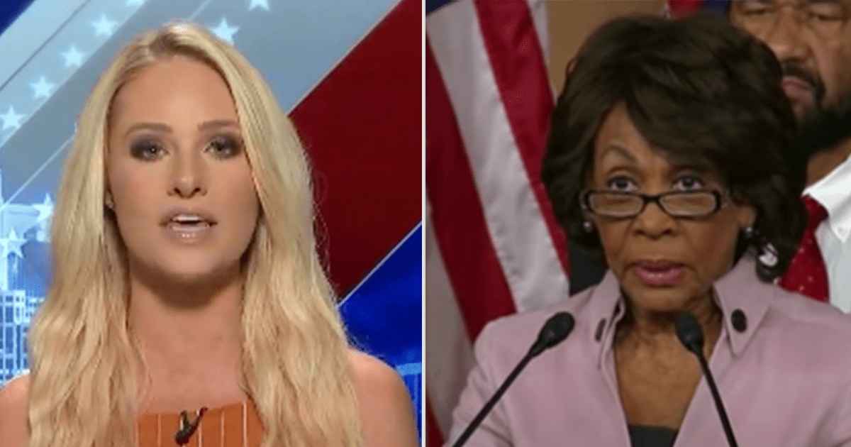 "WATCH: Tomi says Maxine Waters ""wants a race war"" and ""should not be in Congress"""