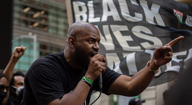 blm nyc leader hawk newsome is demanding an investigation into patrisse cullors  finances