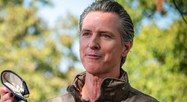 failing democrat gov  gavin newsom was forced to lift his limits of churches