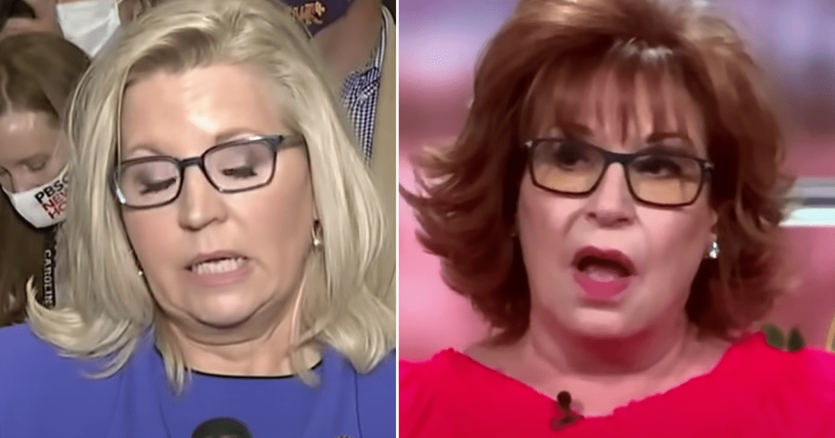 "WATCH: Joy Behar on Liz Cheney ""She is the Joan of Arc, standing up to the heretics at this point. And so she is very lonely in that position."""