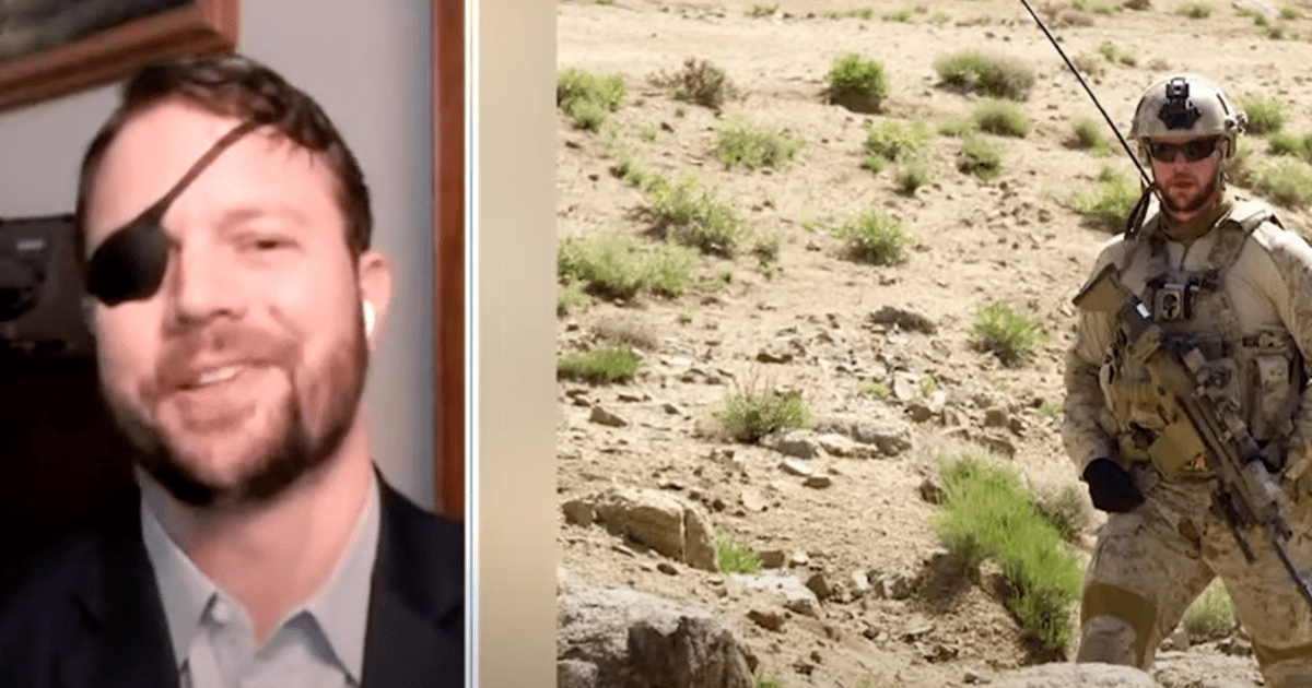 """WATCH: Dan Crenshaw says his eye was saved by a """"surgical miracle"""""""