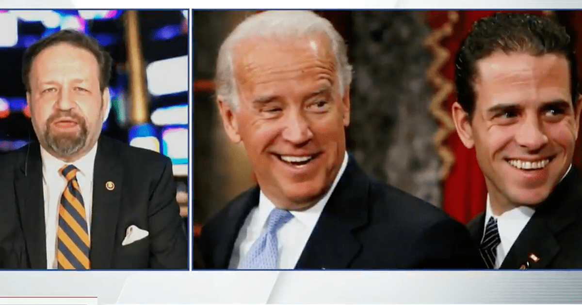"""WATCH: Gorka blasts Biden family for """"protecting"""" Hunter despite """"countless deals with communist nations"""""""