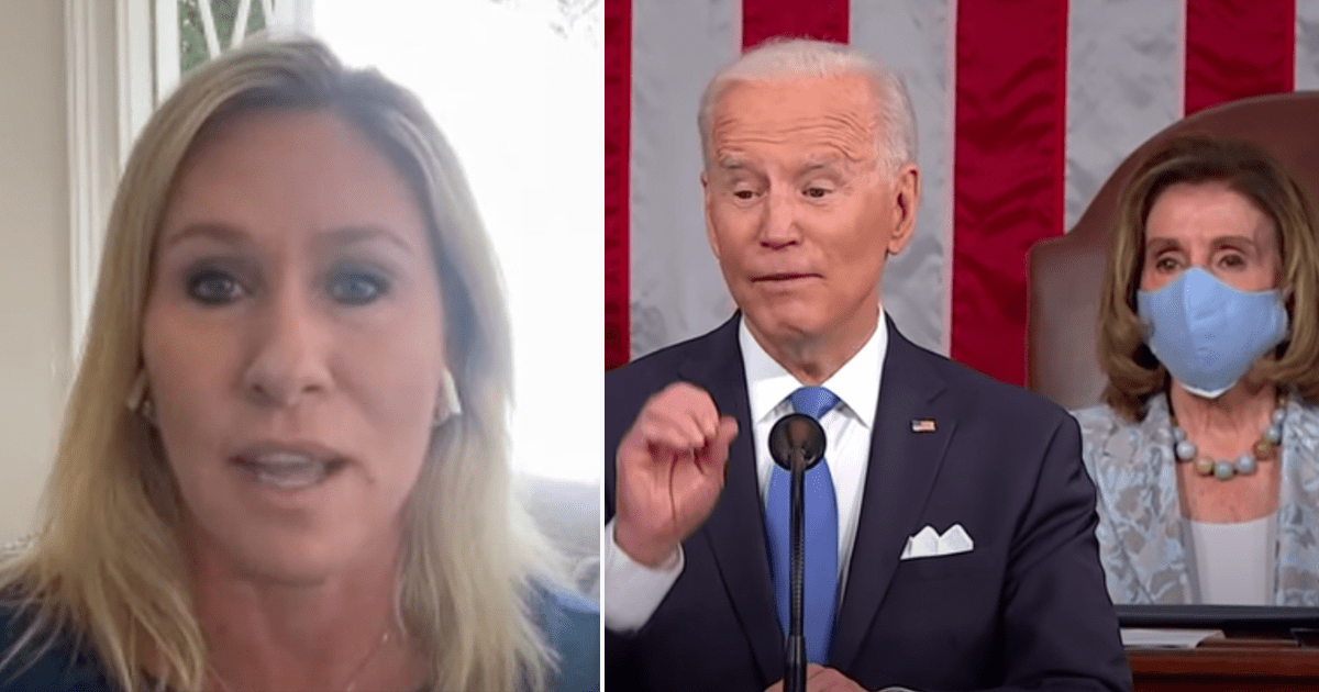 """Greene """"While Gen Milley is being tied to a rope as the sacrificial lamb, never forget that Joe Biden is Commander In Chief. """""""