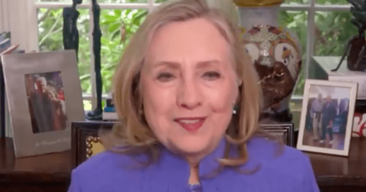 """WATCH: Hillary gives Biden an """"A"""" for his first 100 days, claims """"I'm a hard grader"""""""