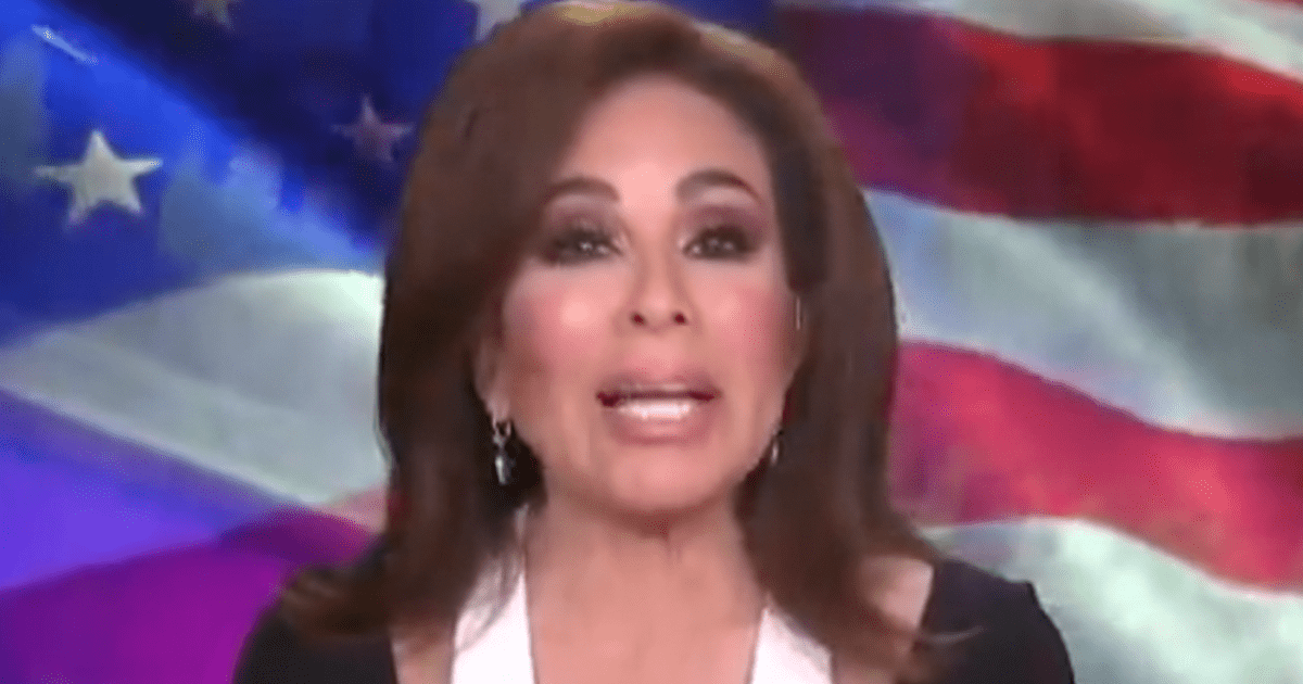 """WATCH: Judge Jeanine blasts Biden DHS Secretary on border, says """"How dare you think that you're so smart and we're so dumb that we're buying into your nonsense."""""""