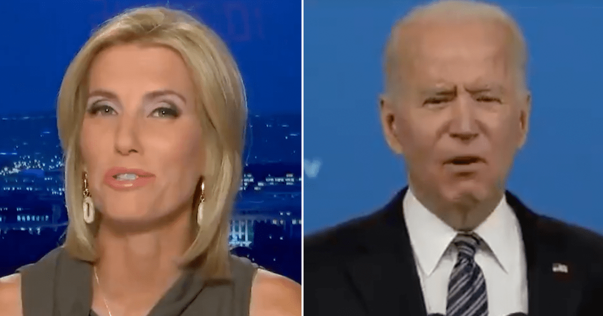 """Laura Ingraham asks """"Who's actually running the show in Biden's White House?"""""""