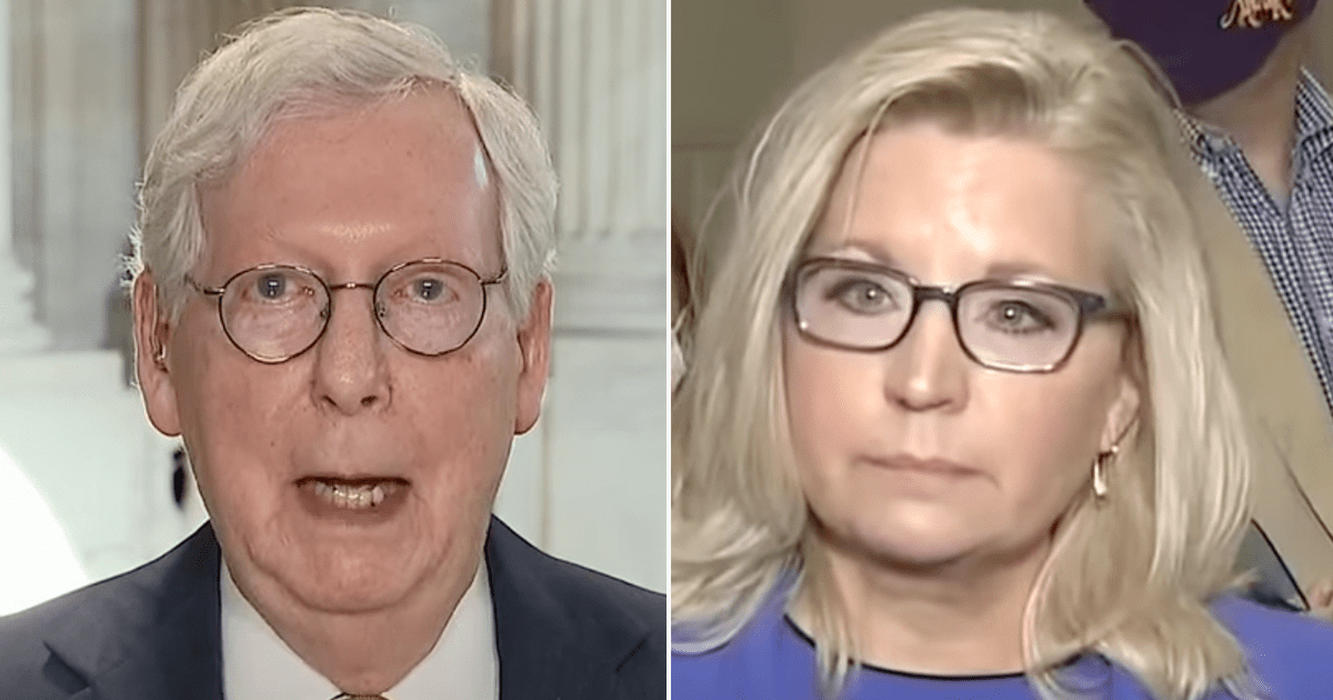 """WATCH: McConnell doubles down on praise for Liz Cheney says """"I'm A Great Admirer Of Hers"""""""