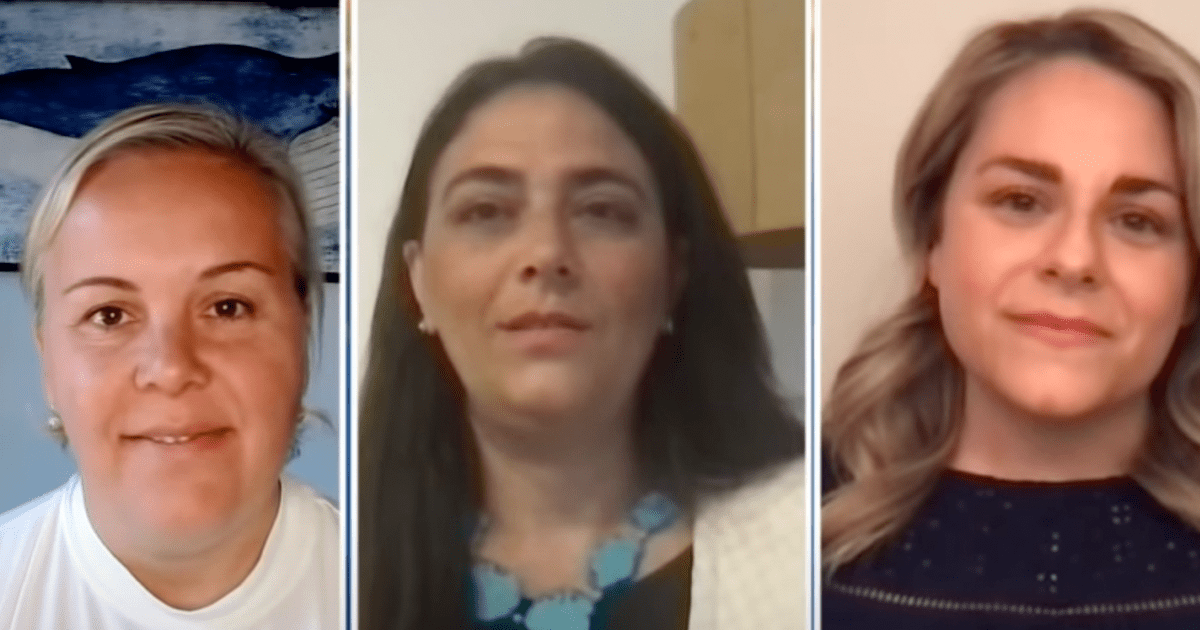 WATCH: New York City parents suing to fully reopen schools speak out