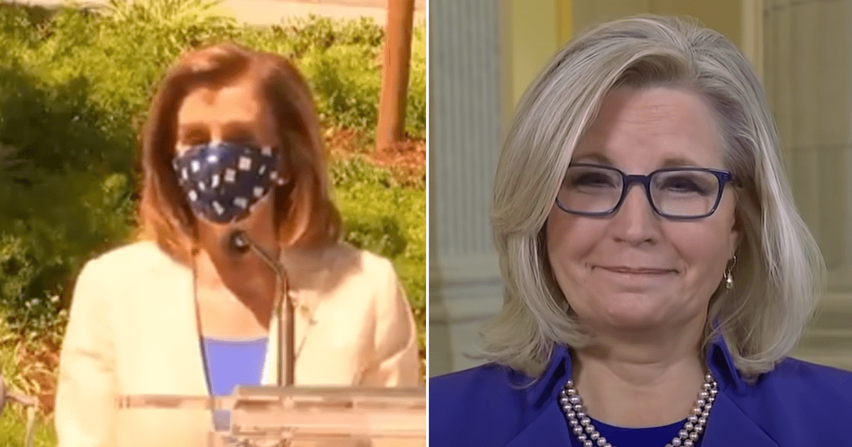 "WATCH: Pelosi praises Liz Cheney amid calls for her to lose her leadership role, refers to her ""courage"" and ""patriotism"""