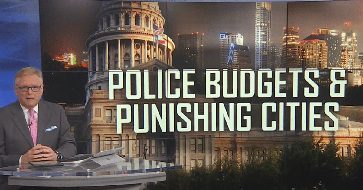 WATCH: Texas GOP advances plan to punish cities who defund the police