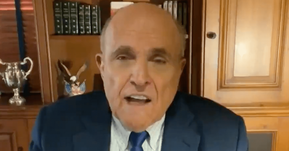 """WATCH: Rudy says agents raided his home but have """"turned their backs on evidence of Biden's criminality"""" for years"""