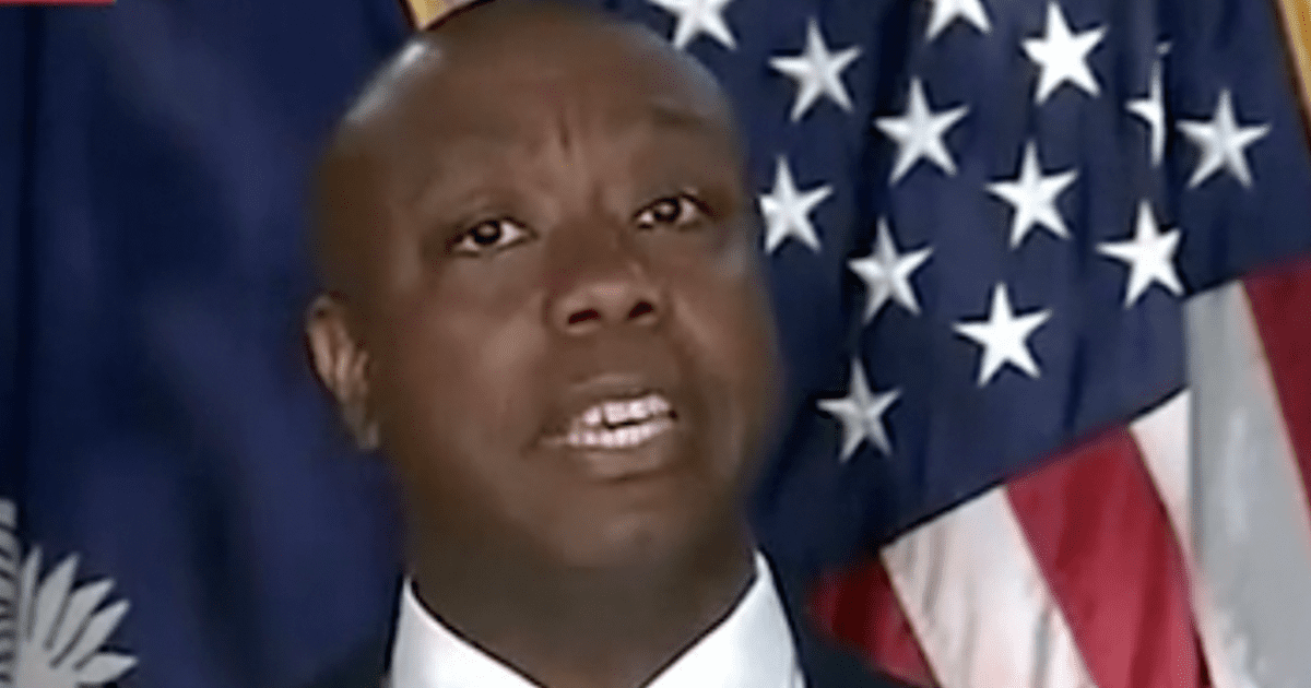 """Tim Scott fires back at critics who labeled him """"Uncle Tim,"""" says """"fighting bigotry with bigotry is hypocrisy"""""""