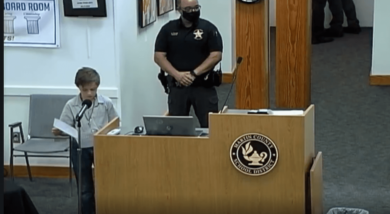 Video: 10 Year Old Exposes Teachers Weaponizing Masks, Obliterates School Board Over Mask Mandate