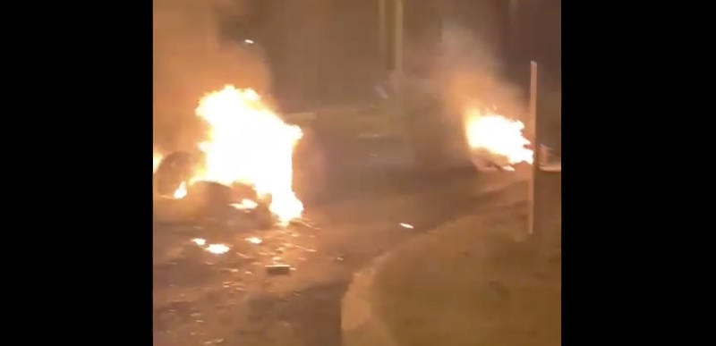 Israeli Mayor says he's lost control of city as Palestinians RIOT and set synagogues on fire