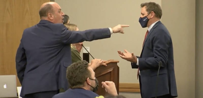 WATCH: Fed up Utah parents create chaos as they shout down school officials over mask wearing