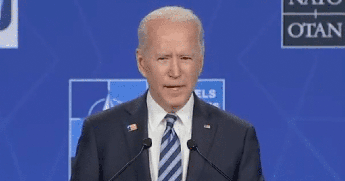 """WATCH: Biden says the Trump wing of the GOP """"makes up a significant minority of the American people"""""""