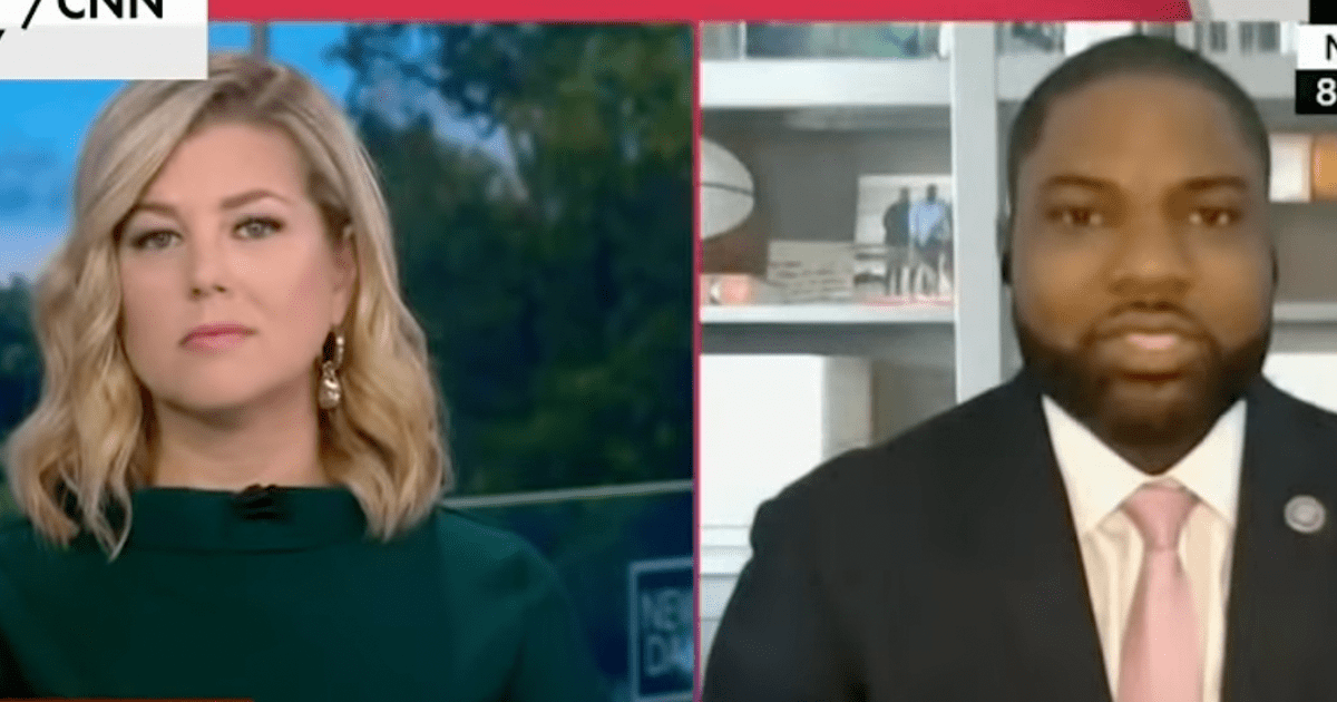 """GOP Rep. has Tense Exchange with CNN Host """"As A Black Man In America, I'm Allowed To Have My Own Thoughts"""""""