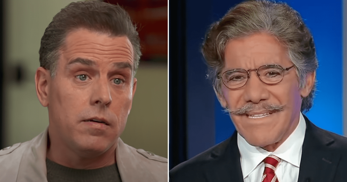"""WATCH: Geraldo says he feels sorry for Hunter's parents """"It is so humiliating, so embarrassing"""""""