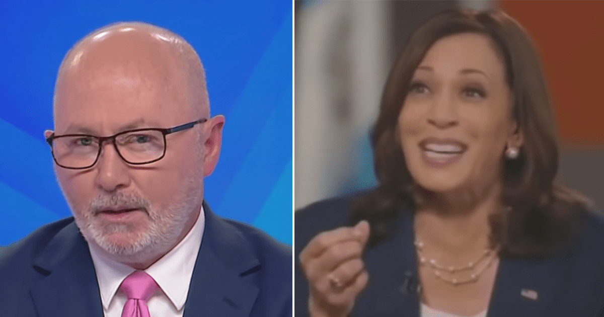 """WATCH: Chris Kenny says whenever Kamala Harris is stuck for an answer on the border crisis """"she just laughs"""""""