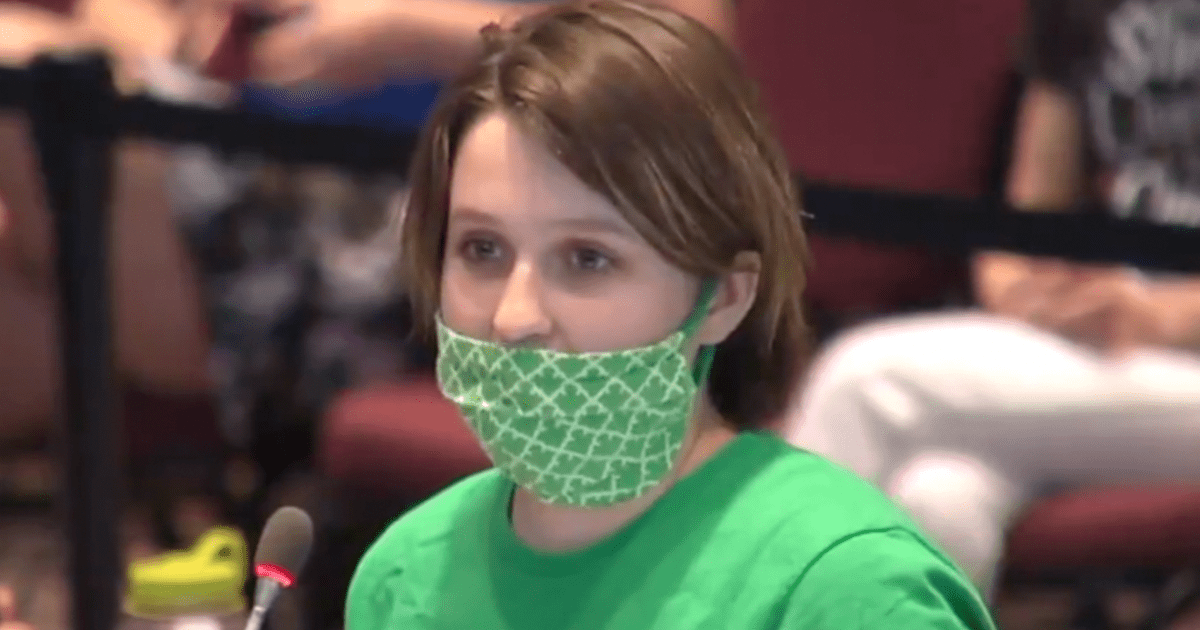 8th grade girl makes waves after speaking out against allowing biological males in girls bathrooms