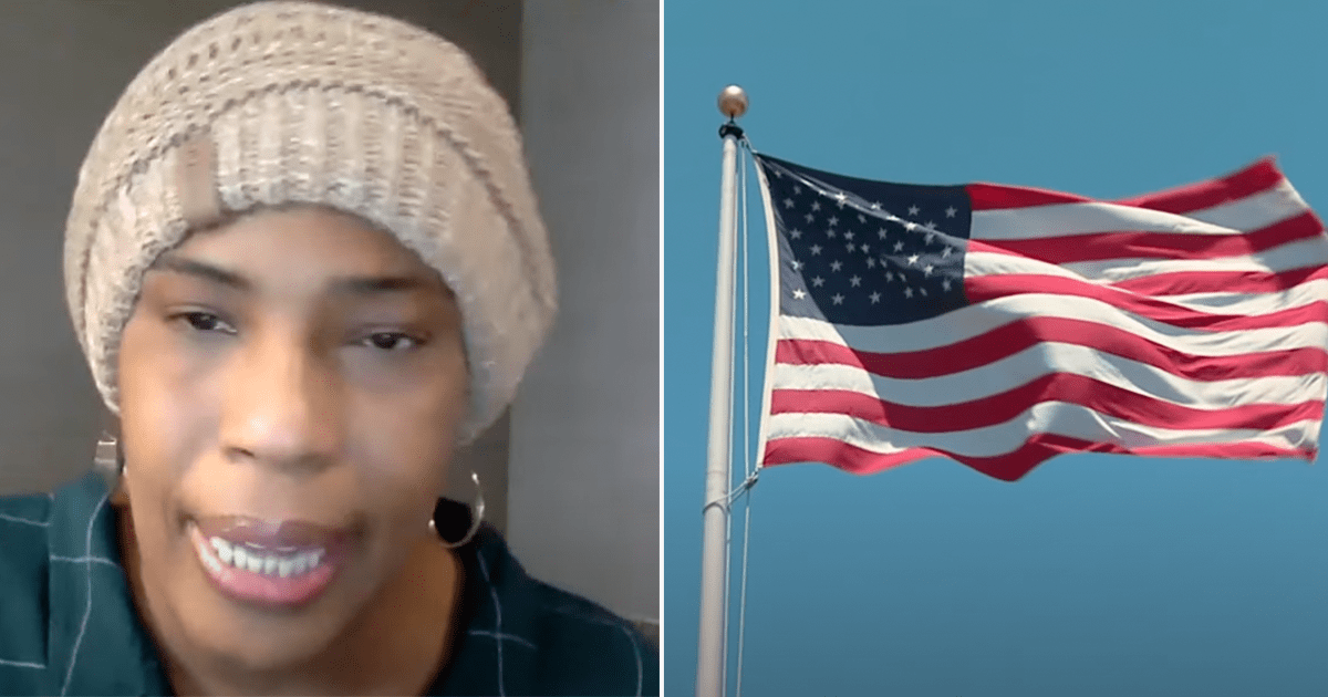 """WATCH: Macy Gray continues call to replace American Flag, asks """"Why do we have to celebrate a flag that now represents divisiveness and hate?"""""""