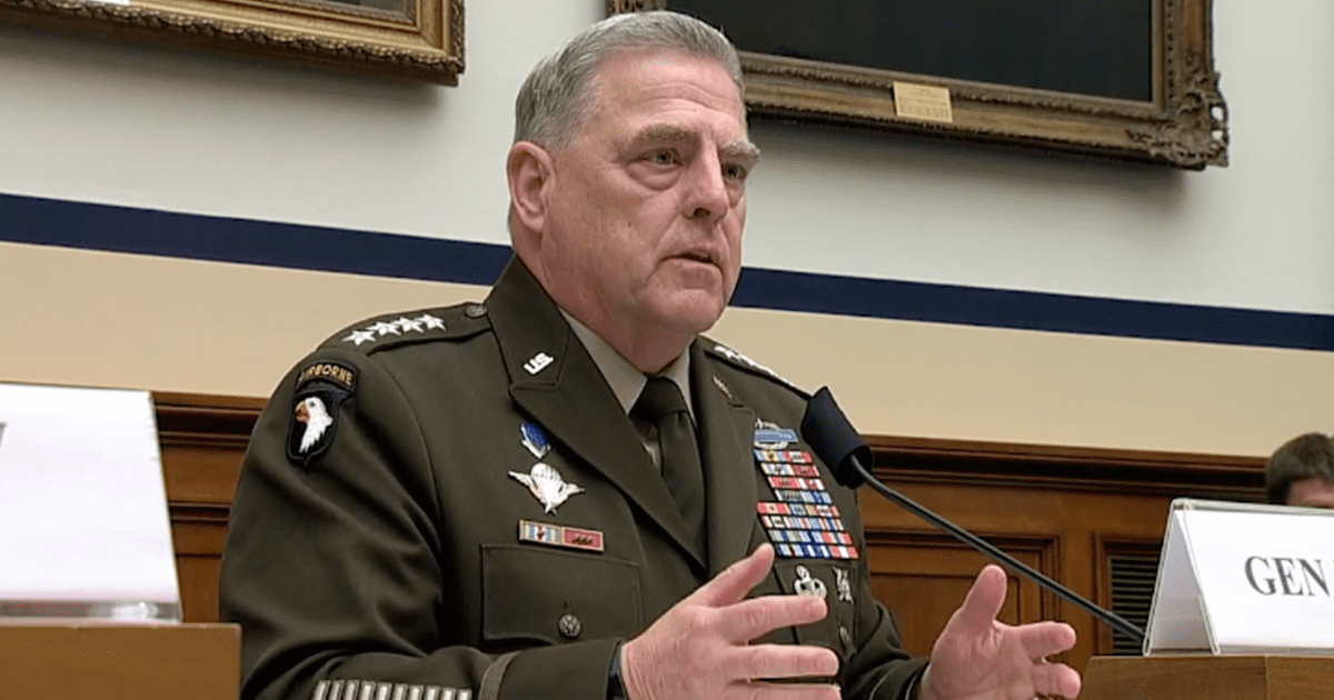"""Joint Chiefs Chair defends critical race theory, doesn't like US military being called """"woke"""""""