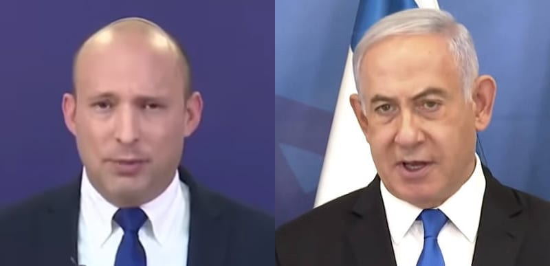 WATCH: Netanyahu vows to 'TOPPLE this dangerous government' as Bennett becomes Israel PM. Warns Iran 'We'll Be Back!'
