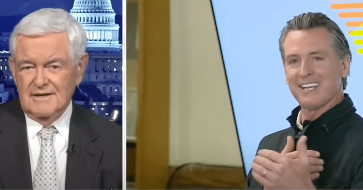 WATCH: Newt argues Blue State have proven they can't be trusted