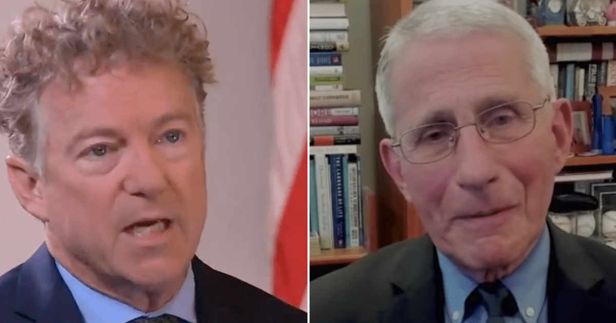 WATCH: Rand Paul says he'll file a criminal referral to DOJ against Fauci