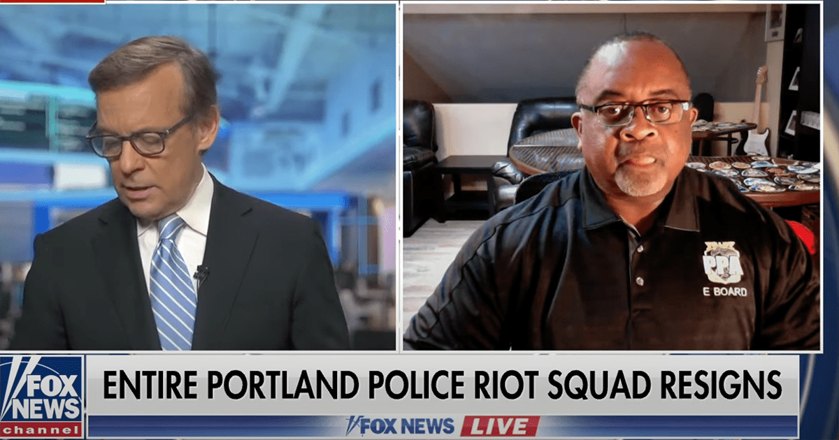 """WATCH: Portland Police association director claims elected officials """"encouraged and enabled some of the violence"""""""