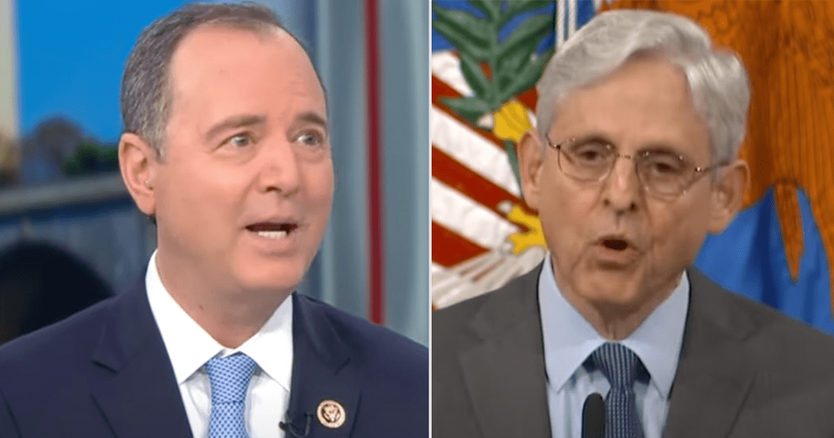 """WATCH: Schiff calls for AG Garland to investigate """"gross abuses"""" during Trump Presidency"""