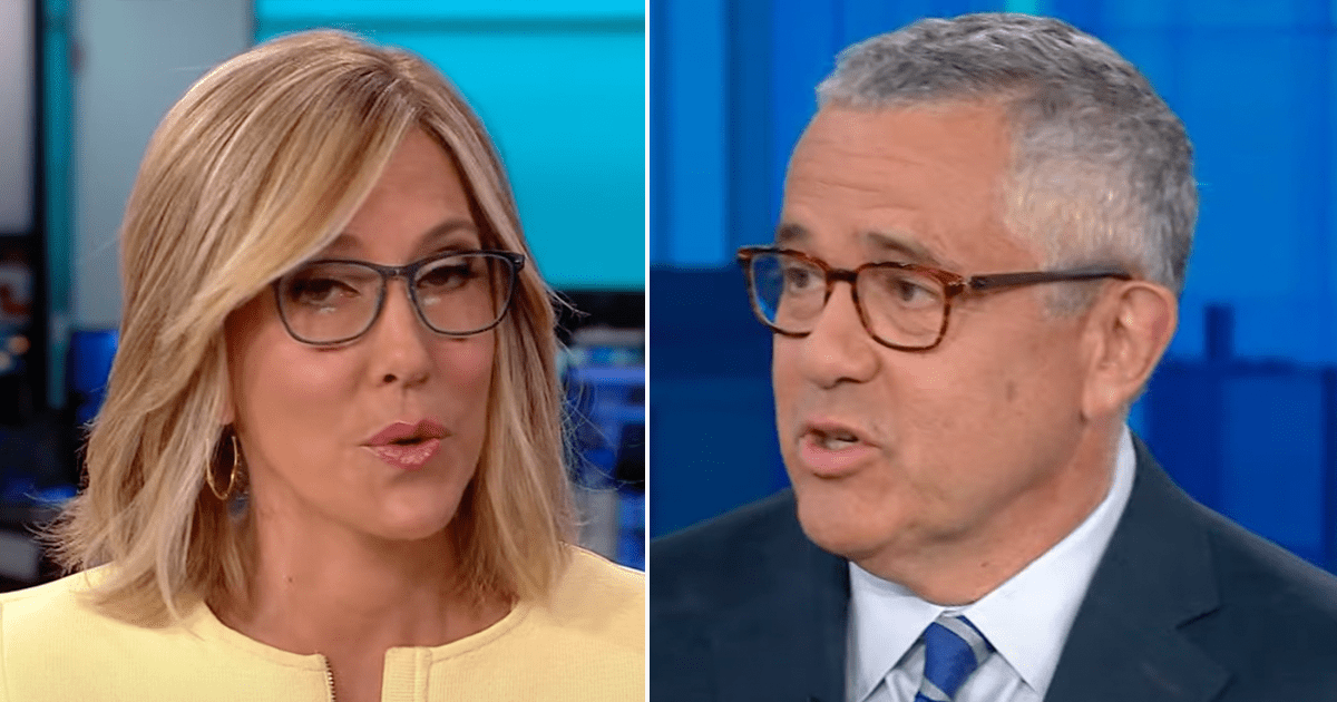 """WATCH: Toobin makes his return to CNN, Camerota asks him """"what the hell were you thinking?"""""""