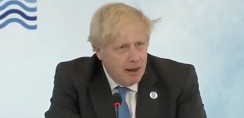 Boris Johnson says we need to 'build back better' in a more 'feminine way'
