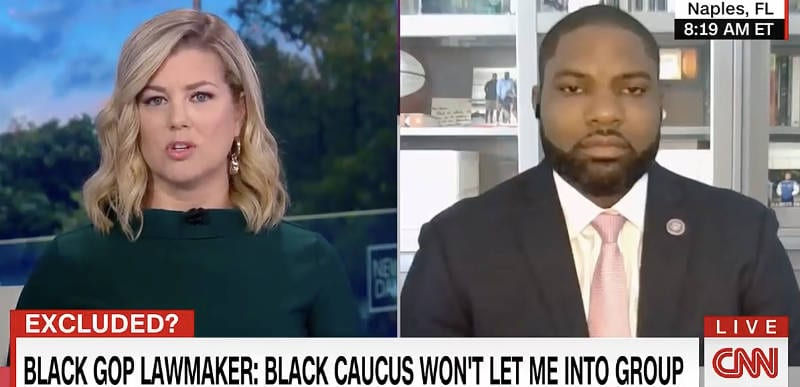 WATCH: Rep. Byron Donalds DESTROYS CNN for trying to make CBC rejection of him about Trump