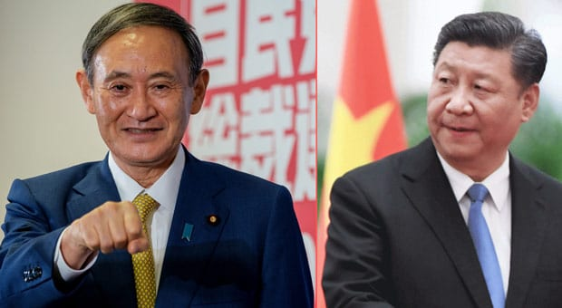 japan s prime minister yoshihide suga has triggered outrage from communist china by called taiwan a  country