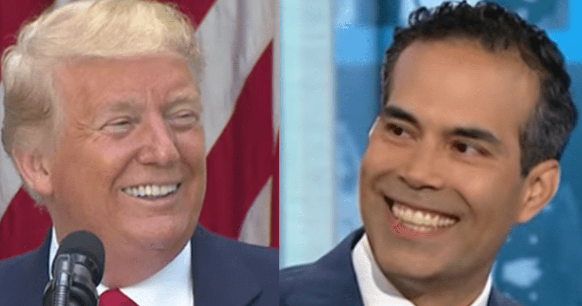 """George P. Bush explains his support for Trump """"We need to carry on that legacy–capture the lightning that he brought to the Republican Party"""""""